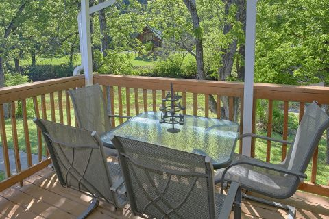 2 Bedroom Cabin with a Private Deck - Bear Paw Chalet