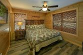 King Bedroom on Main Floor with Flatscreen TV