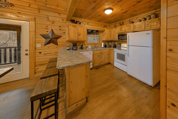 Cabin with Fully Stocked Kitchen - Bear Play