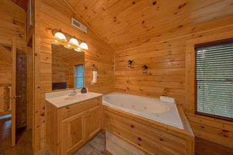 Jacuzzi in Master Suite - Bear Play