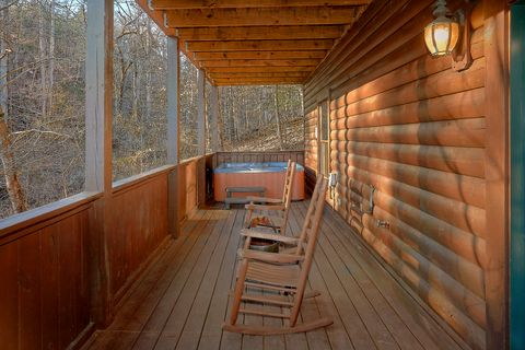 Hot Tub with Wooded Views - Bear Play