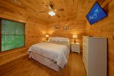 King Bed in Cabin