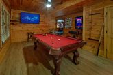Game Room with Pool Table, and Arcade Games