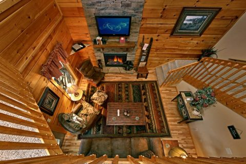 Cabin with 3 Levels - Bear-E-Nice