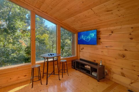 Pigeon Forge 3 Bedroom Cabin Sleeps 9 - Bearfoot Dreams