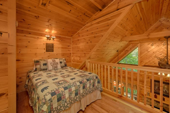 Open Loft Bedroom - Bear'ly Makin' It