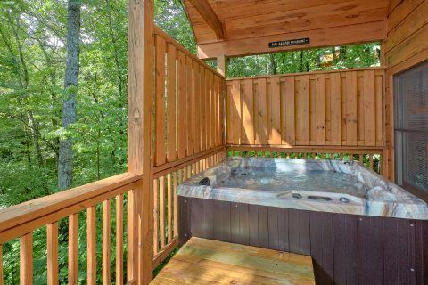 1 Bedroom Cabin Sleeps 6 with Hot Tub - Bear'ly Makin' It