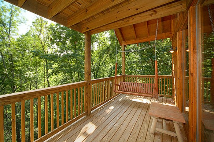 Smoky Mountain Cabin with a Porch Swing - Bear-rif-ic