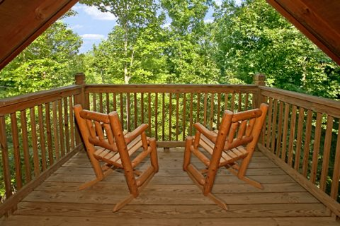 Top Deck with Views of Gatlinburg - Bear-rif-ic
