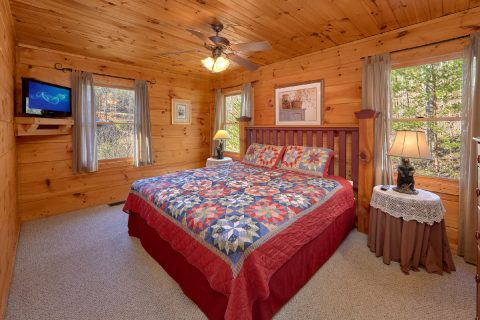 Master Bedroom with Connecting Full Bathroom - Bear's Lair