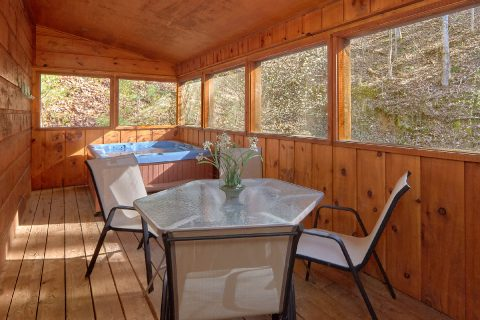 2 Bedroom Cabin with Screened in Porch and WiFi - Bear's Lair