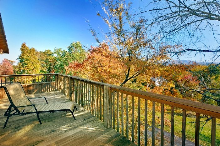 Rustic Cabin with Wooded Views of the Smokies - Bearway To Heaven