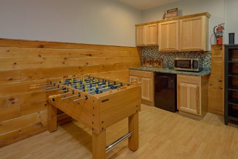 Pigeon Forge Cabin with Foosball Table and WiFi - Beckham's Bungalow