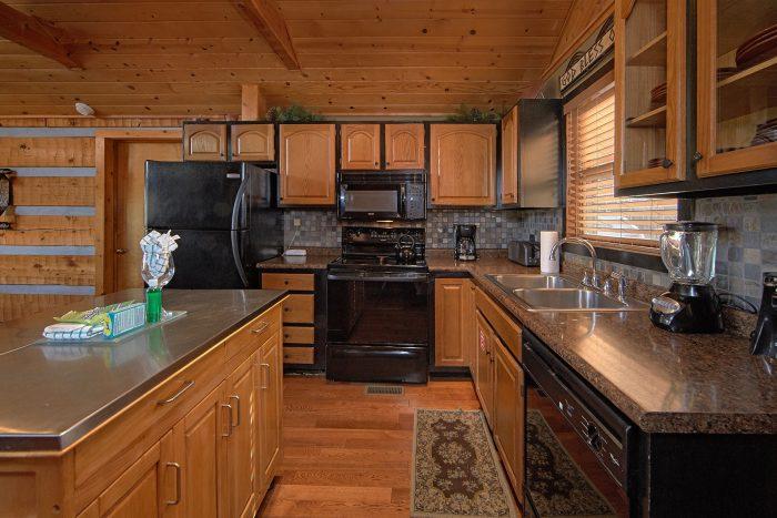 Near Pigeon Forge 2 Bedroom Cabin Sleeps 6 - Bella Casa