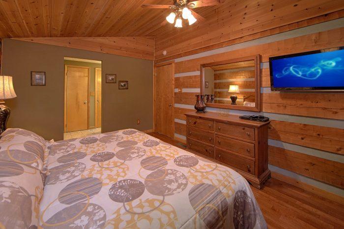 2 Bedroom Cabin Sleeps 6 All Flat Screen TV's - Bella Casa
