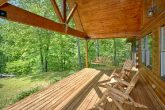 Secluded Cabin with Wooded Views & Covered Deck