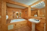 Premium 3 Bedroom Cabin Rental with Jacuzzi Tub