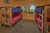 5 Bedroom Cabin with Bunk Beds Sleeps 14