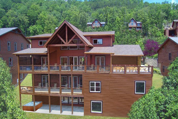 Big Vista Lodge Cabin Rental Photo