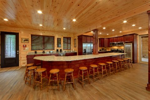 Premium Kitchen - Big Vista Lodge