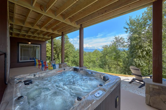 Spectacular Views From Hot Tub - Big Vista Lodge