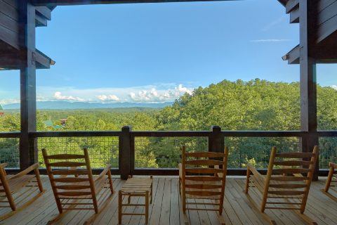 Spectacular Views From Every Deck - Big Vista Lodge