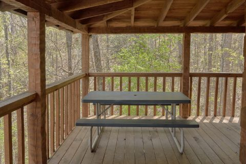 4 Bedroom Cabin Sleeps 12 Picnic Table - Black Bear