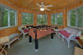 2 Bedroom Cabin with Foos Ball Sleeps 8