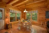 Pigeon Forge Cabin with Dining Area and Kitchen