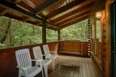 2 Bedroom Cabin that Features a Porch Swing