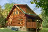 2 bedroom cabin with private, wooded view