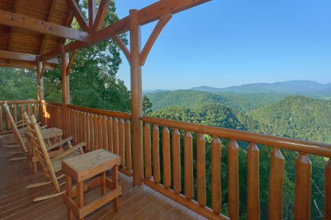 Luxury Cabin with Premium View Sleeps 10 - Blue Sky