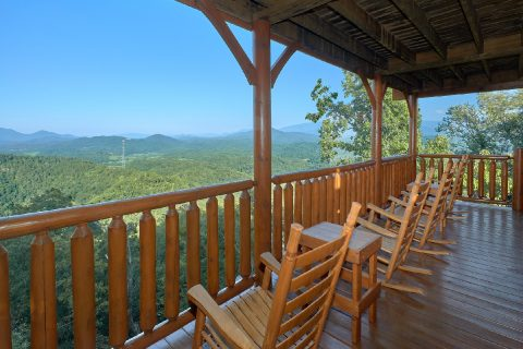 Large Deck with Premium View - Blue Sky