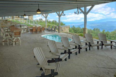 Premium cabin rental with Gorgeous Mountain View - Bluff Mountain Lodge