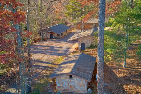 Private rental cabins on Bluff Mountain - Bluff Mountain Lodge