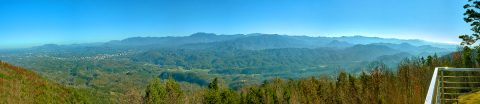 Luxury Lodge with Incredible View of the Smokies - Bluff Mountain Lodge