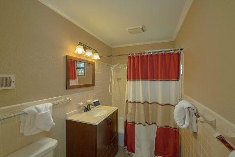 Master Bathroom with Shower Sleeps 6 - Byrd House