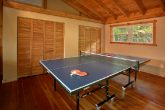 3 Bedroom Cabin with a Ping Pong Table