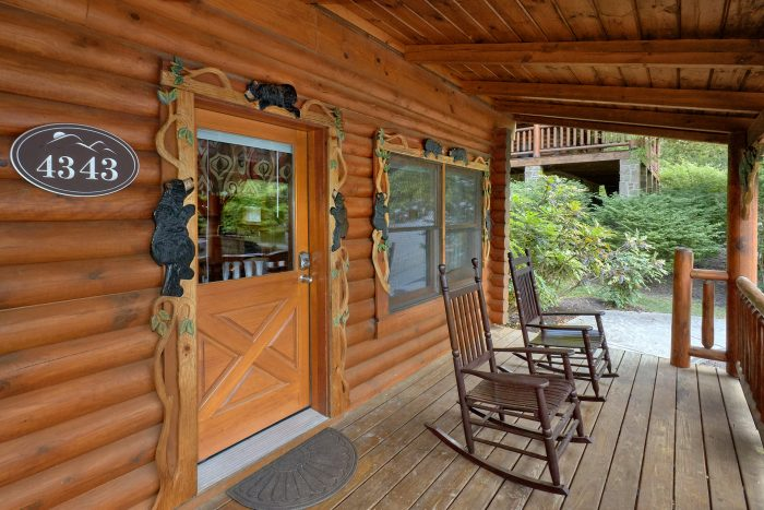 2 bedroom cabin in Smoky Mountain Ridge Resort - Candle Light Cabin