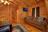 2 bedroom cabin with arcade and sleeper sofa