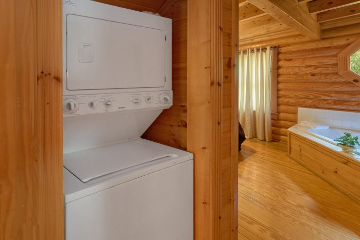 Cozy 2 bedroom cabin with washer and dryer - Candle Light Cabin