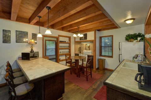 Large Open Kitchen and Dining Room - Can't Bear To Leave