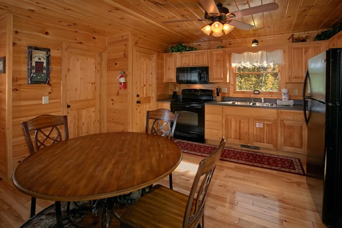 Cabin with Large Kitchen and Dining Area - Can't Bear To Leave