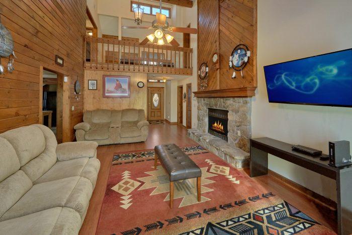 Beautiful 5 Bedroom Cabin Sleeps 10 Pigeon Forge - Casa Blanca