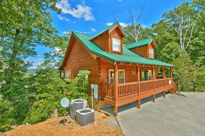 3 Bedroom Cabin Near Gatlinburg With Hot Tub Catch A Star