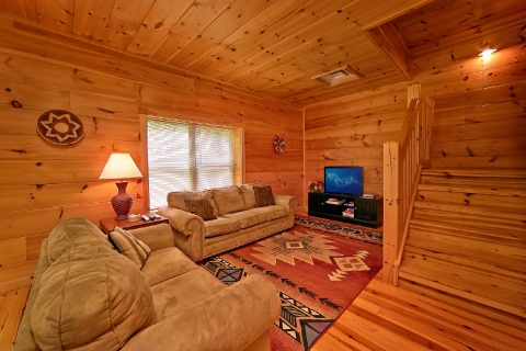 Cabin with Family room and sleeper sofa - Catch A Star