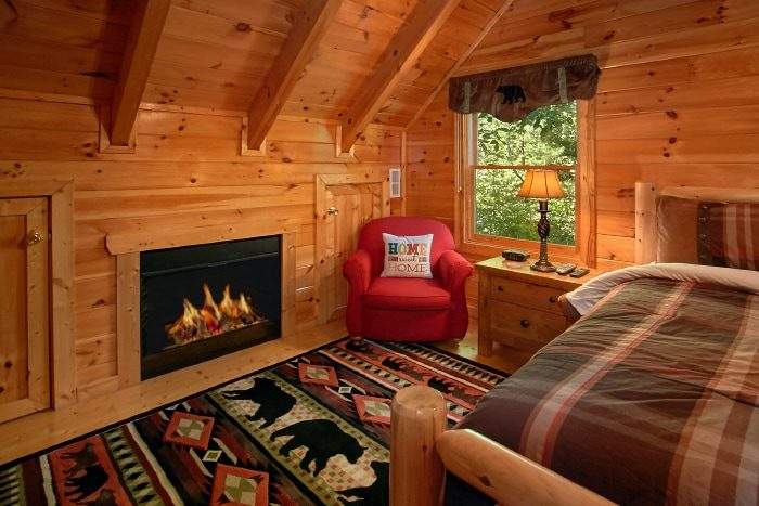 Main Floor Master Suite with Fireplace - Catch of the Day