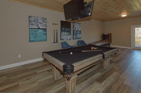Game Room with Pool Table 3 Bedroom Cabin - Chalet Vista