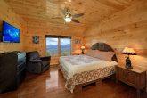 Gatlinburg Cabin with Private King Bedroom