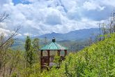 Gazebo with Views of the Smoky Mountains